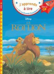 Le Roi Lion ; CP ; niveau 1 - Couverture - Format classique