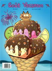 Les P'tits Diables ; compil' ; goût vacances ! - 4ème de couverture - Format classique