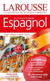 Dictionnaire Larousse poche espagnol - Couverture - Format classique