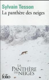 La panthère des neiges - Couverture - Format classique