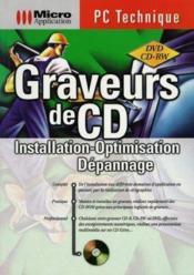 Pc technique graveur de cd - Couverture - Format classique