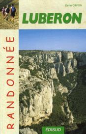 Randonnee luberon - Couverture - Format classique