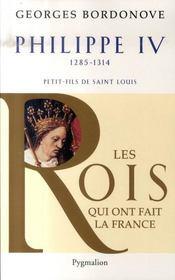 Philippe IV 1285-1314 ; petit-fils de Saint Louis - Intérieur - Format classique