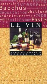 Le vin - Intérieur - Format classique
