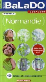 Guide Balado ; Normandie (Edition 2007-2008) - Intérieur - Format classique