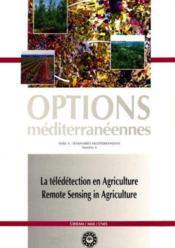 La teledetection en agriculture serie a n.4 - Couverture - Format classique