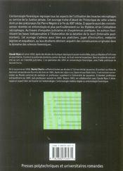 Traite D'Entomologie Forensique. Les Insectes Sur La Scene De Crime - 4ème de couverture - Format classique