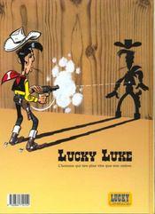Lucky Luke T.54 ; la fiancée de Lucky Luke - 4ème de couverture - Format classique