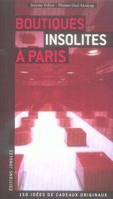 Boutiques insolites à Paris - Intérieur - Format classique