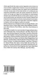 Eretica ; le tanscendant et le profane dans l'art contemporain - 4ème de couverture - Format classique