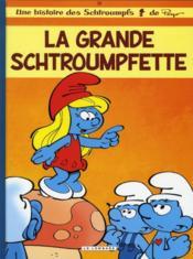 Les Schtroumpfs T.28 ; la grande Schtroumpfette - Couverture - Format classique