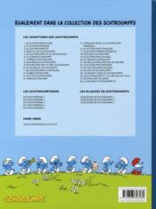 Les Schtroumpfs T.28 ; la grande Schtroumpfette - 4ème de couverture - Format classique