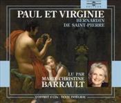 Paul et Virginie - Couverture - Format classique