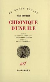 Chronique D'Une Ile - Couverture - Format classique