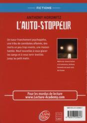 L'auto stoppeur ; 9 nouvelles noires pour nuits blanches - 4ème de couverture - Format classique