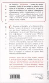 Rousseau ; présenté par Thomas Freneczi - 4ème de couverture - Format classique