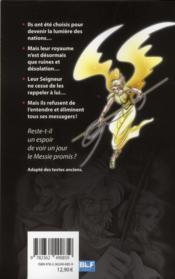 La bible en manga T.3 ; les messagers - 4ème de couverture - Format classique