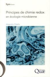 Principes de chimie redox en écologie microbienne - Couverture - Format classique
