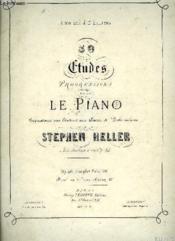 30 Etudes Progressives Pour Le Piano - Couverture - Format classique