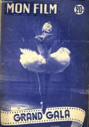 Mon Film N° 373 - Grand Gala - Couverture - Format classique