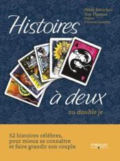 Histoires à deux ou double je ; coffret livre avec 52 cartes - Couverture - Format classique
