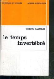 Le Temps Invertebre / Collection Presence Et Pensee - Specimen. - Couverture - Format classique