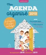 Mon agenda organisé 2019 - Couverture - Format classique