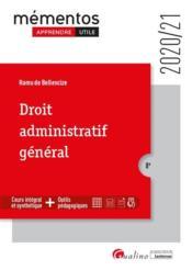 Droit administratif général (édition 2020/2021) - Couverture - Format classique