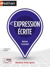 L'expression écrite (édition 2021) - Couverture - Format classique