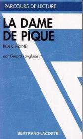 La Dame De Pique - Parcours De Lecture - Couverture - Format classique