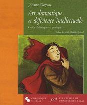 Art dramatique et déficience intellectuelle - Intérieur - Format classique