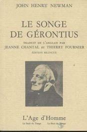 Le Songe De Gerontius - Couverture - Format classique