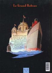 Le fond du monde t.5 ; le grand bateau - 4ème de couverture - Format classique