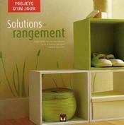 Solutions de rangement - Intérieur - Format classique