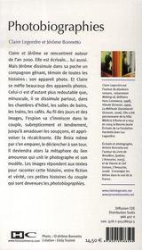 Photobiographies - 4ème de couverture - Format classique