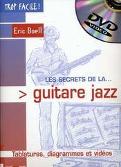 TROP FACILE ; les secrets de la guitare jazz - Intérieur - Format classique