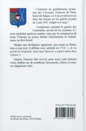 La Baron De Salgas - 4ème de couverture - Format classique