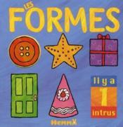 Les formes ; il y a 1 intrus - Couverture - Format classique