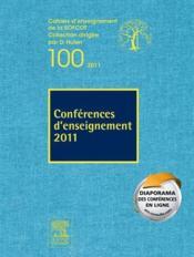 Conférences d'enseignement (édition 2011) - Couverture - Format classique