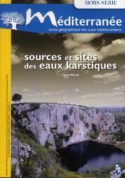 Mediterranee ; Sources Et Sites Des Eaux Karstiques - Couverture - Format classique
