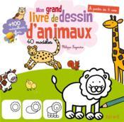 Mon livre de dessin des animaux - Couverture - Format classique