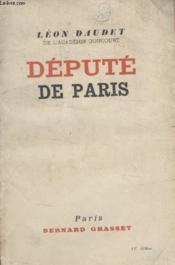 Depute De Paris. - Couverture - Format classique