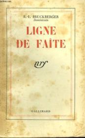 Ligne De Faite. - Couverture - Format classique