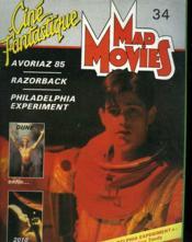 Mad Movies Cine Fantastique N°34 - Couverture - Format classique
