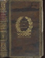 Choix De Lettres Morales De Mesdames De Sevigne Tome Ii, Grignan, Maintenon Et Simiante - Couverture - Format classique