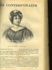 Mme DE STAEIL (1766-1817) - Couverture - Format classique