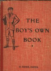 The Boy'S Own Book - Classe De Premiere Annee - Couverture - Format classique