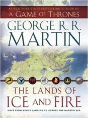 Game of Thrones - le trône de fer ; les cartes du monde connu - Couverture - Format classique