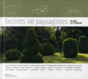 Secrets de paysagistes - Couverture - Format classique