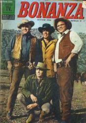BONANZA OCTOBRE 1966 MENSUEL N°17 - l'énigme du foulard rouge - l'or de stander - deux expèces d'ours - lex poux du ciel - la diligence de Virginia City - l'orphelin - le rat musqué. - Couverture - Format classique